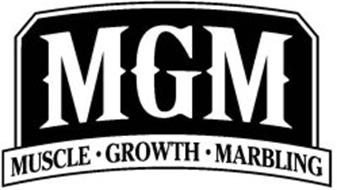 MGM MUSCLE·GROWTH·MARBLING
