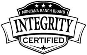 MONTANA RANCH BRAND INTEGRITY CERTIFIED