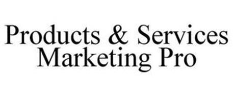 PRODUCTS & SERVICES MARKETING PRO