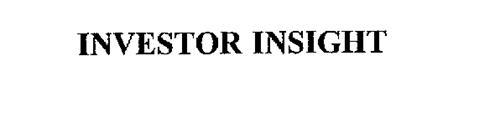 INVESTOR INSIGHT