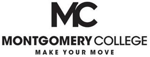 MC MONTGOMERY COLLEGE MAKE YOUR MOVE