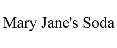 MARY JANE'S SODA