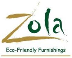 ZOLA ECO-FRIENDLY FURNISHINGS