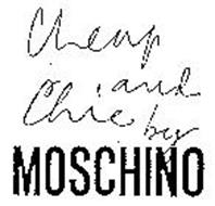 CHEAP AND CHIC BY MOSCHINO