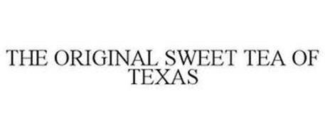THE ORIGINAL SWEET TEA OF TEXAS
