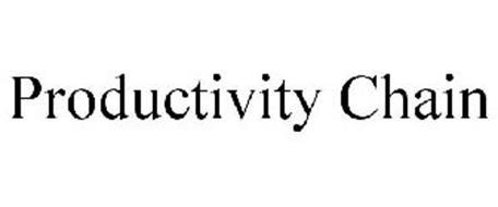 PRODUCTIVITY CHAIN