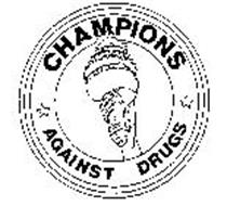 CHAMPIONS AGAINST DRUGS