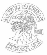 AZTEC REBELS MC BRONX. N.Y