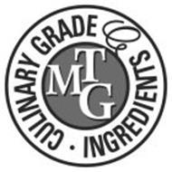 CULINARY GRADE MTG INGREDIENTS