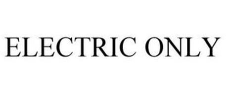 ELECTRIC ONLY