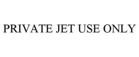 PRIVATE JET USE ONLY