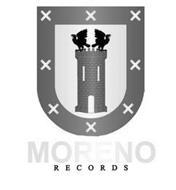 MORENO RECORDS X X X X X X X X