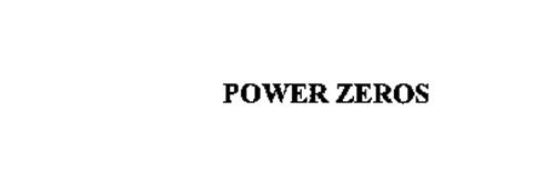 POWER ZEROS