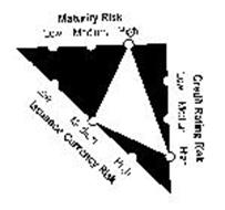 MATURITY RISK LOW MEDIUM HIGH CREDIT RATING RISK LOW MEDIUM HIGH ISSUANCE CURRENCY RISK LOW MEDIUM HIGH