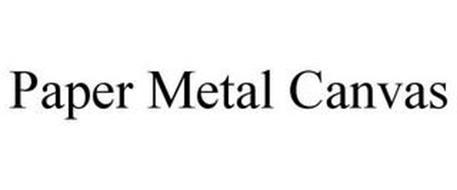 PAPER METAL CANVAS