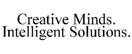 CREATIVE MINDS. INTELLIGENT SOLUTIONS.