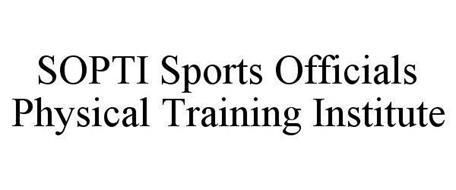 SOPTI SPORTS OFFICIALS PHYSICAL TRAINING INSTITUTE