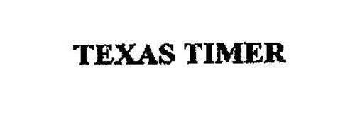 TEXAS TIMER