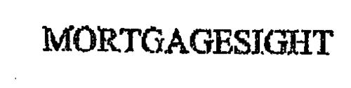 MORTGAGESIGHT
