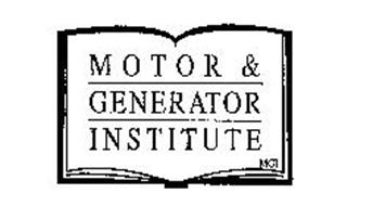 Motor generator institute mgi trademark of motor and for What is found in a generator and motor