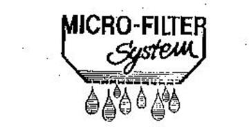 MICRO-FILTER SYSTEM