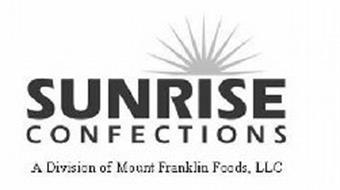 SUNRISE CONFECTIONS A DIVISION OF MOUNT FRANKLIN FOODS, LLC