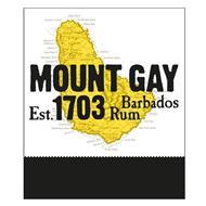 MOUNT GAY EST. 1703 BARBADOS RUM