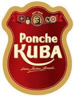 EST 1942 THE ORIGINAL CARIBBEAN PONCHE KUBA CREAM DON JAIME SPROCK