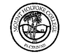 MOUNT HOLYOKE COLLEGE 1837 PS.CXLIV:XII