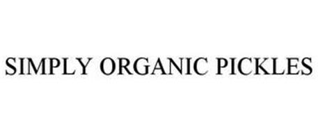 SIMPLY ORGANIC PICKLES