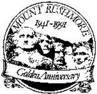 MOUNT RUSHMORE 1941-1991 GOLDEN ANNIVERSARY