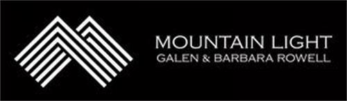 MOUNTAIN LIGHT GALEN & BARBARA ROWELL