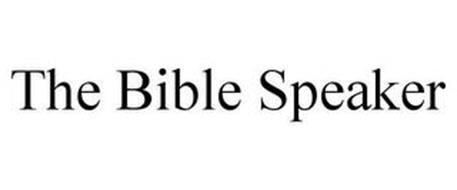 THE BIBLE SPEAKER