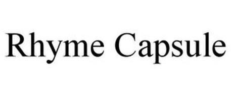 RHYME CAPSULE