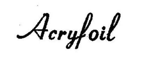 ACRYFOIL
