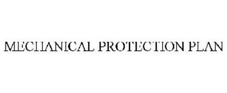 MECHANICAL PROTECTION PLAN Trademark of MPP CO., INC ...