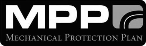 MPP MECHANICAL PROTECTION PLAN Trademark of MPP CO., INC ...