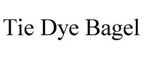 TIE DYE BAGEL