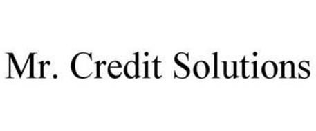 MR. CREDIT SOLUTIONS