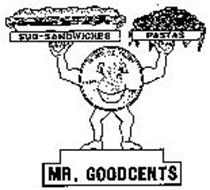 MR. GOODCENTS SUB-SANDWICHES PASTAS LIBERTY IN GOD WE TRUST 1989 KC