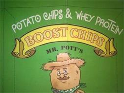 POTATO CHIPS & WHEY PROTEIN BOOST CHIPS MR. POTT'S