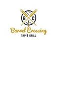 BC BARREL CROSSING TAP & GRILL