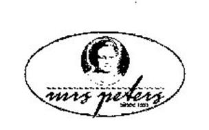 MRS PETERS SINCE 1931