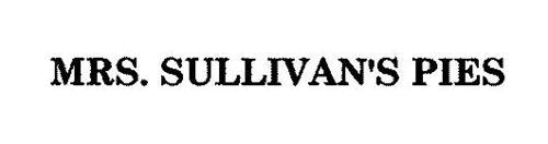 MRS. SULLIVAN'S PIES