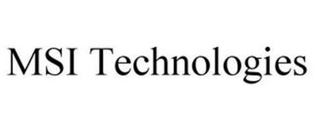 MSI TECHNOLOGIES