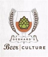 GEBHARD'S BEER CULTURE