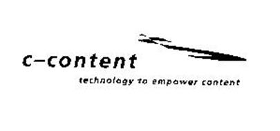 C-CONTENT TECHNOLOGY TO EMPOWER CONTENT
