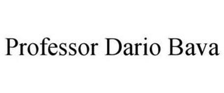 PROFESSOR DARIO BAVA