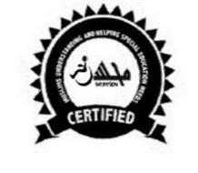 MUHSEN MUSLIMS UNDERSTANDING AND HELPING SPECIAL EDUCATION NEEDS CERTIFIED