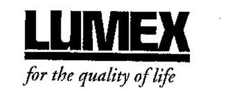 LUMEX FOR THE QUALITY OF LIFE